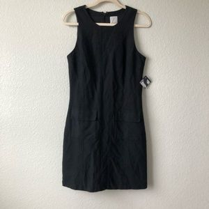 Halogen Black Sleeveless Dress w Pockets Sz 10